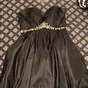 Short Alyce Prom Dress with Corset back